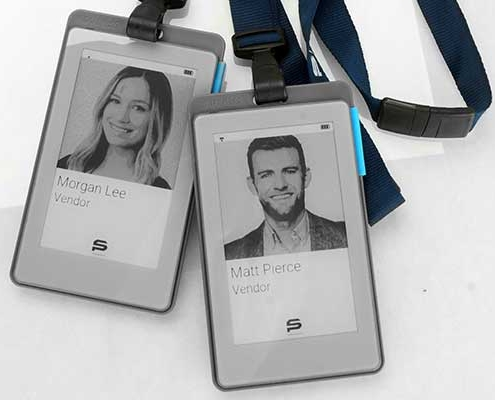 Smart Badges with Lanyard